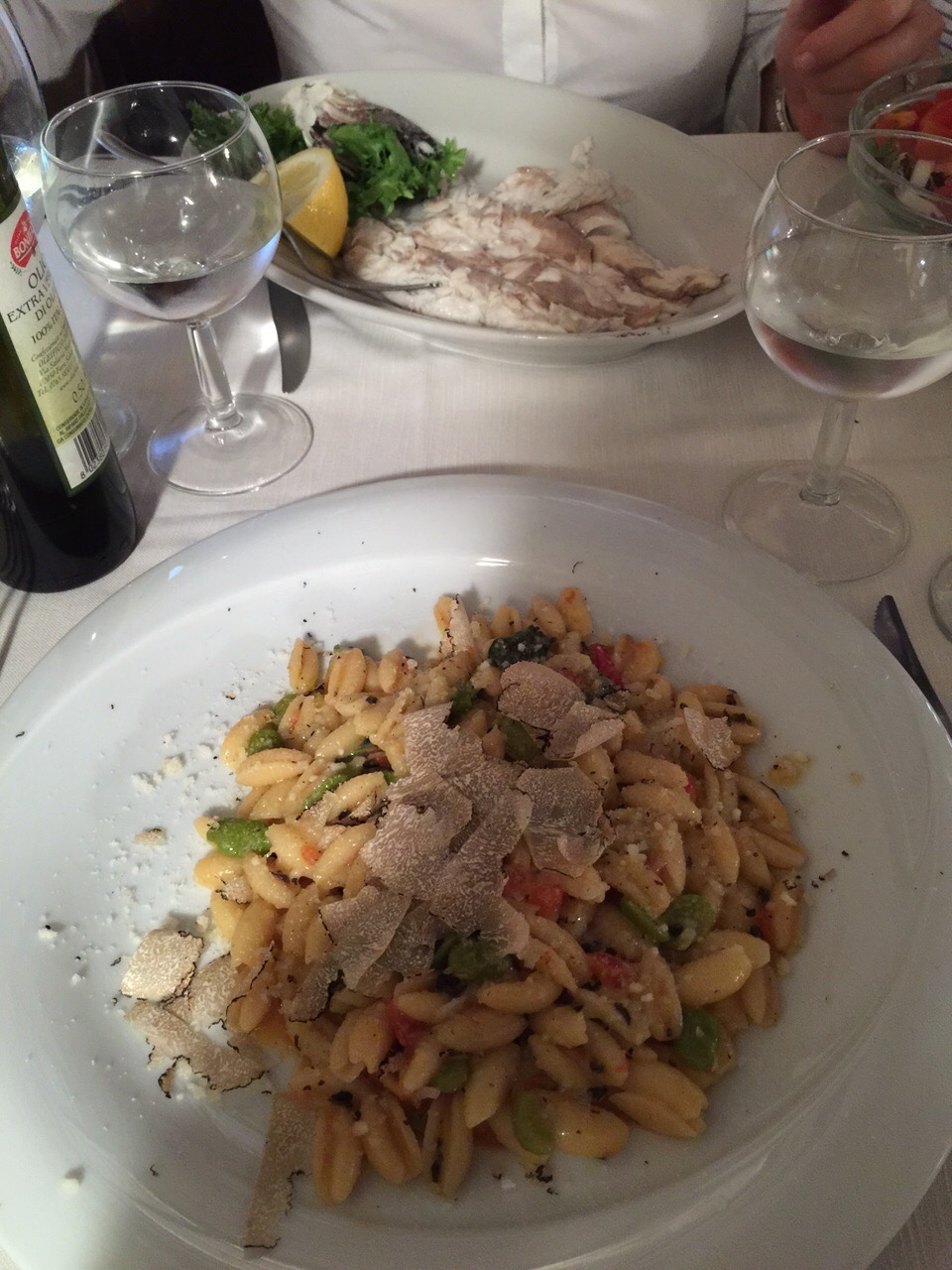 restaurants in trastevere