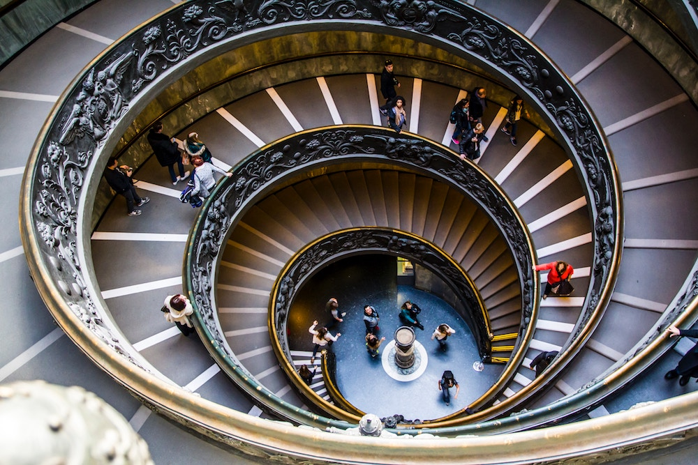 Visiting the Vatican museums