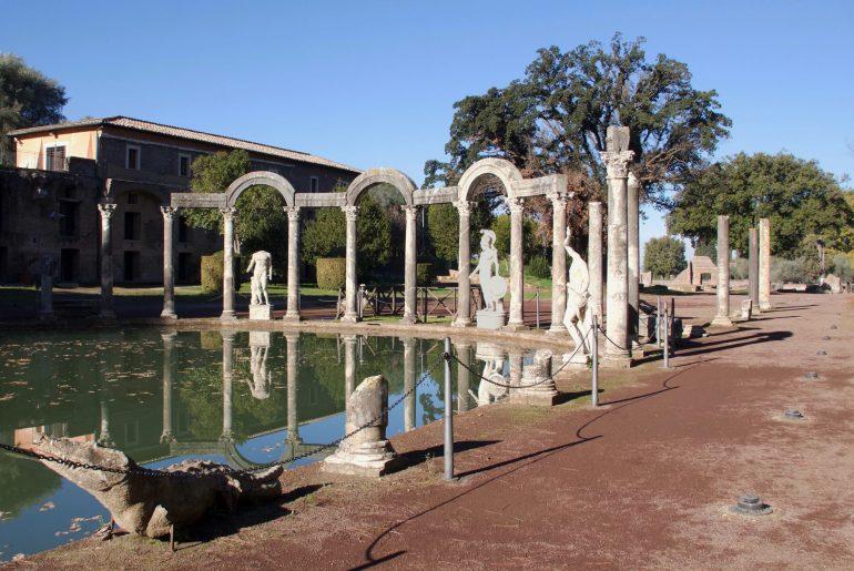 day trips from Rome: Villa Adriana in Tivoli