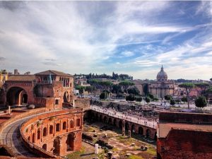 where to get the best views of rome