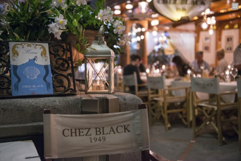 Chez Black restaurant in Positano