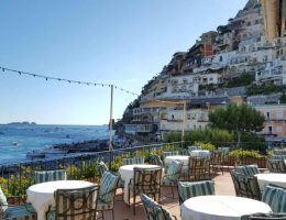 Romantic restaurants in Positano: Buca di Bacco