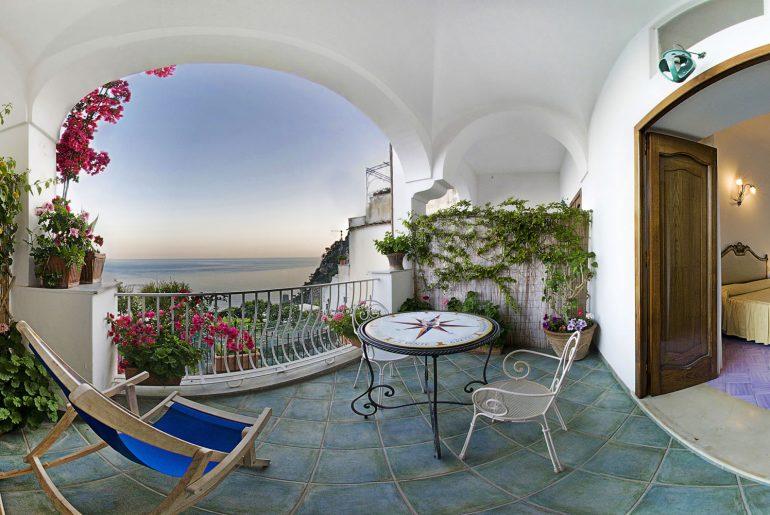 La Rosa dei Venti bed and breakfast in Positano