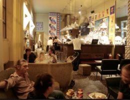 Lacerba bar and restaurant in Porta Romana in Milan