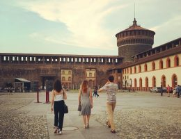 must visit sights in Milan: Sforza Castle