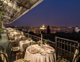 The best restaurants with a view in Rome - Mirabelle