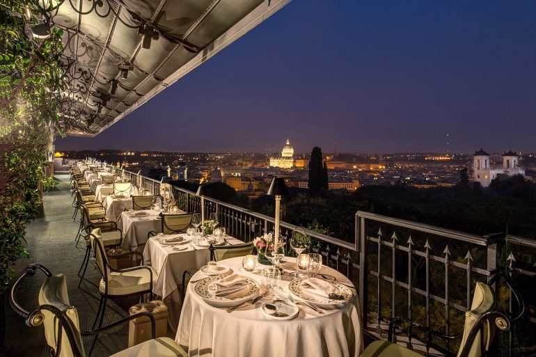 Star Italian Restaurants In Rome