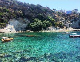 Ponza island Italy