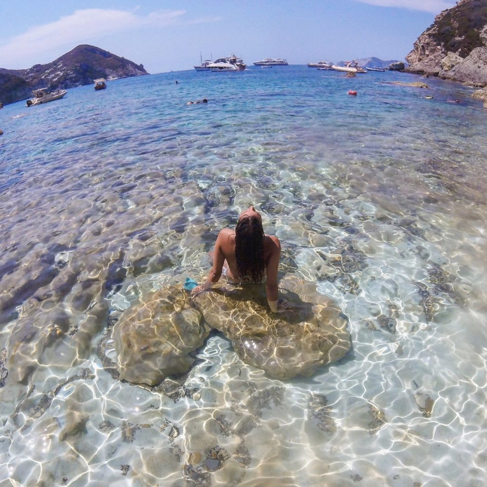 The best beach coves in Ponza Island