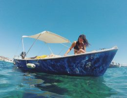where to rent a boat in ponza island