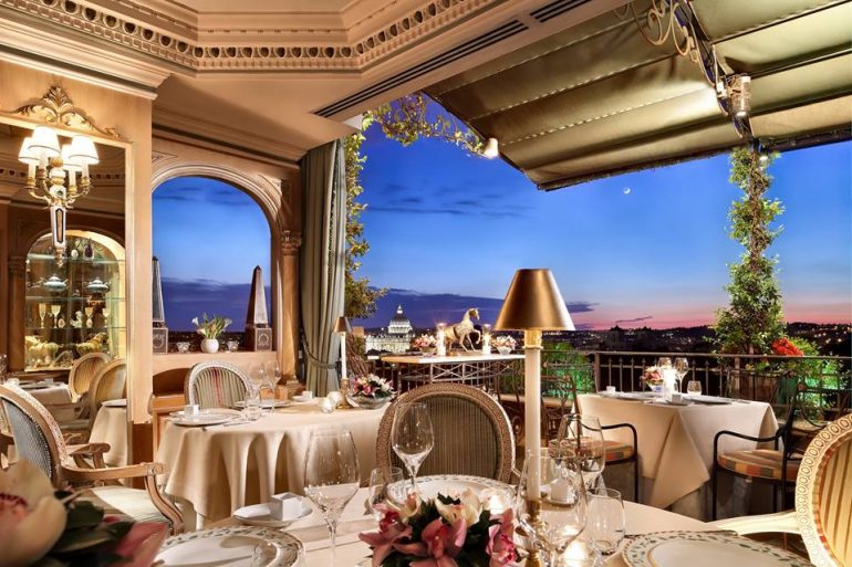 Restaurants With A View In Rome Mirabelle Where To Go In