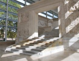 the best archeology museums in rome: ara pacis museum