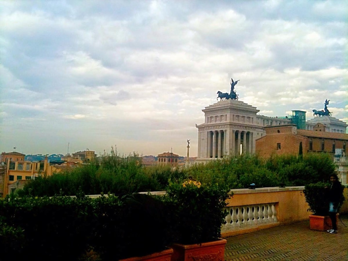 the best views in rome