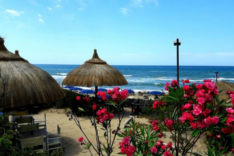 best beaches near Rome: Sabaudia beaches