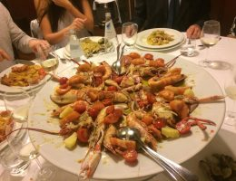 Ottavio is one of the best seafood restaurants in Rome