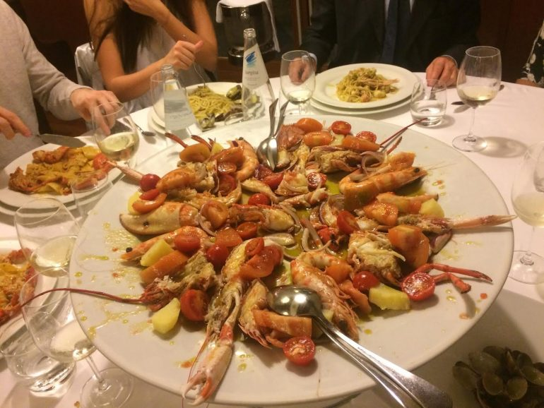 ottavio best seafood restaurant in rome
