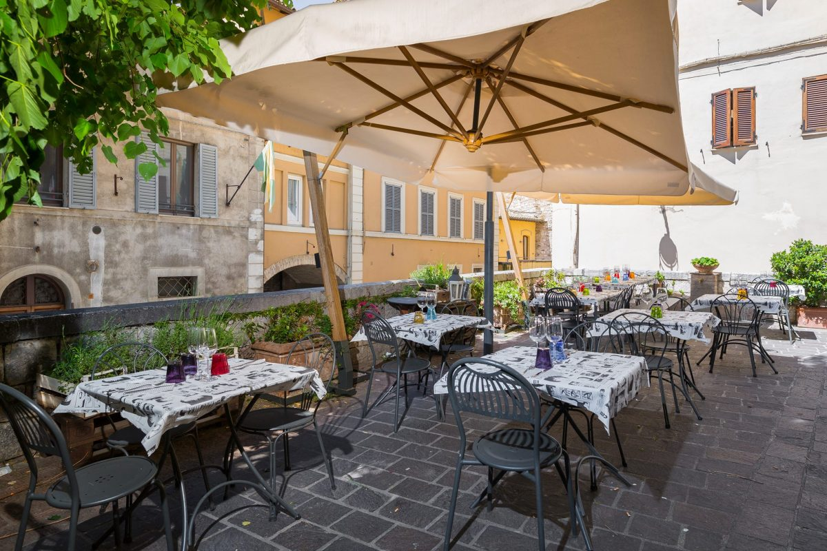 best restaurants in assisi and umbria