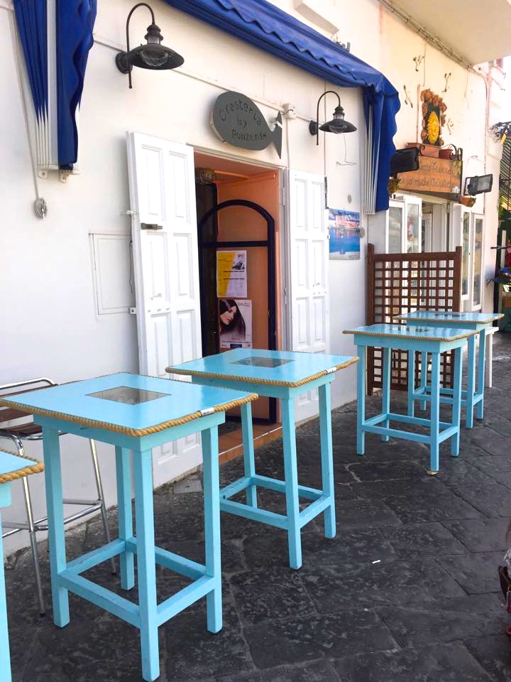 where to eat in ponza island