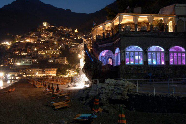 Nightlife in Positano