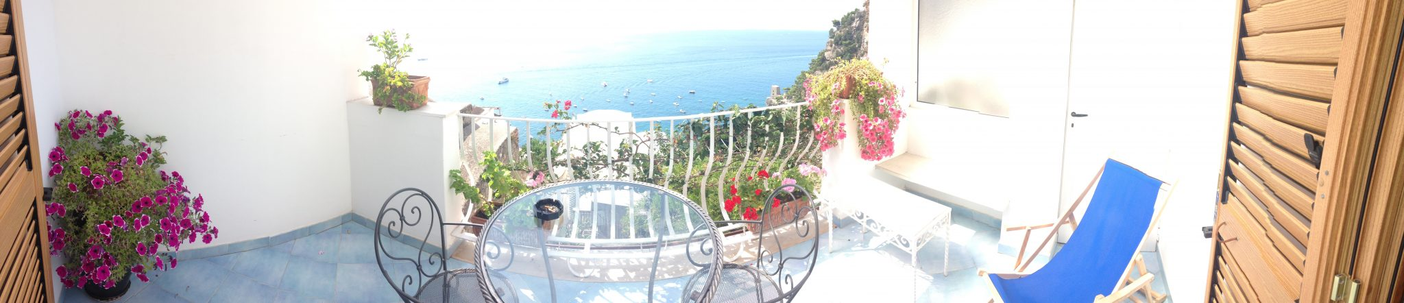 Bed and breakfast with a view in Positano