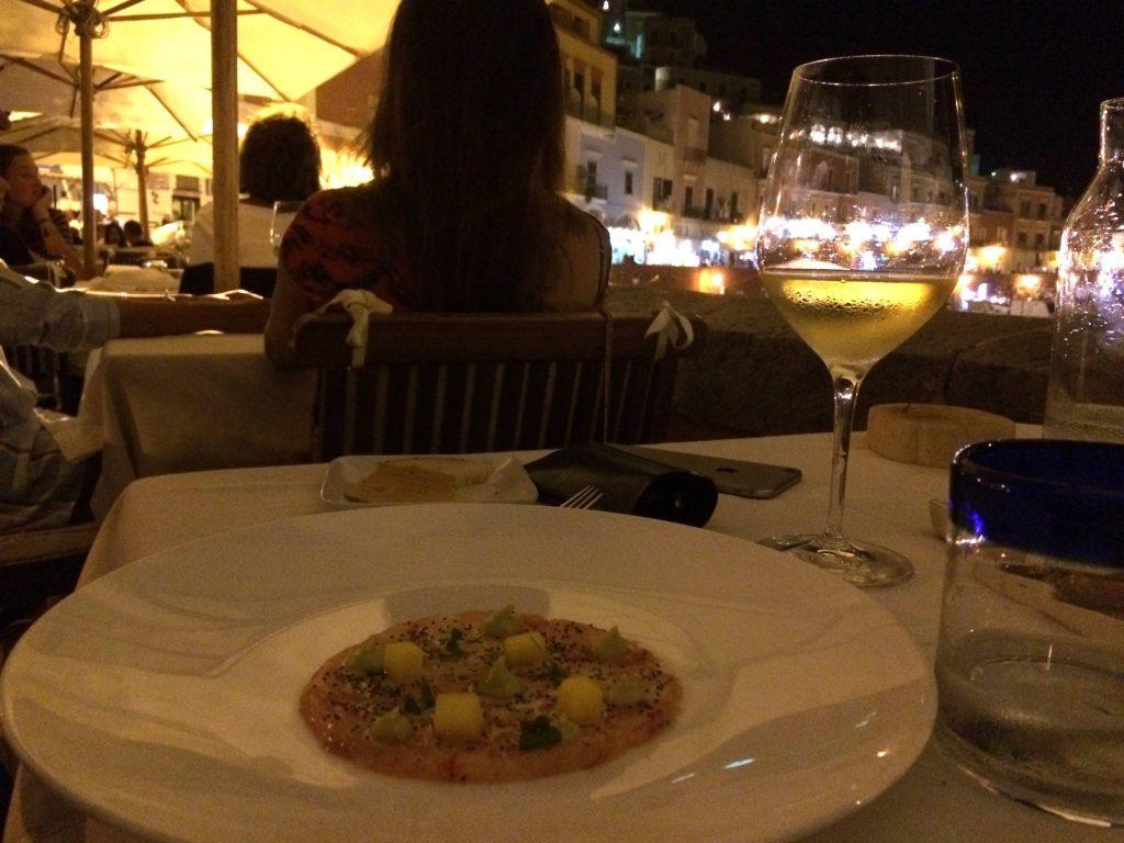 the best restaurans in ponza island