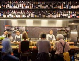 Rebelot del Pont: gourmet aperitivo in Milan
