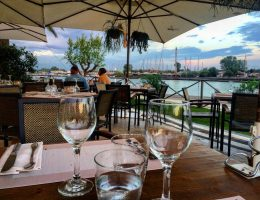 The best restaurants near Rome Fiumicino Airport | Gina a Porto Romano