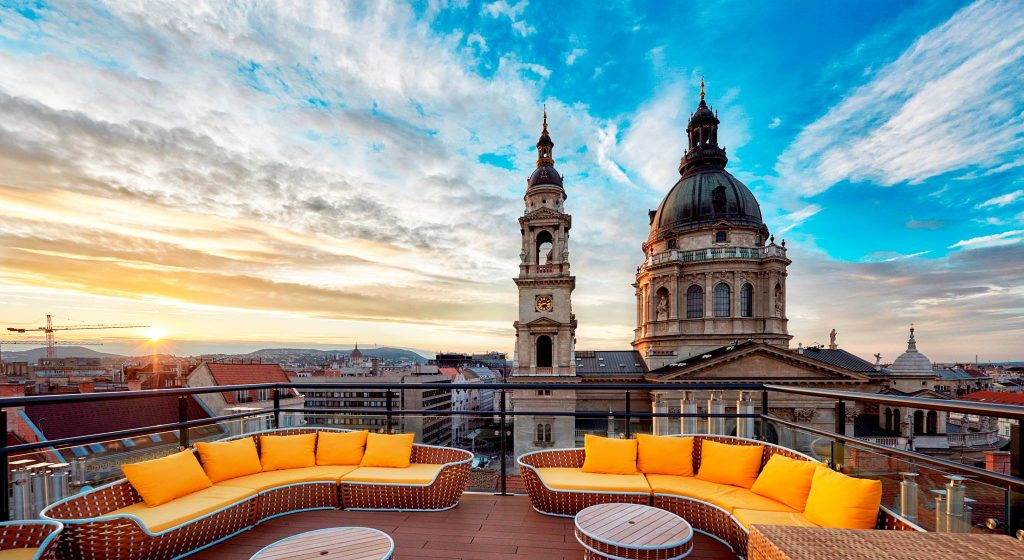 rooftop bars Budapest