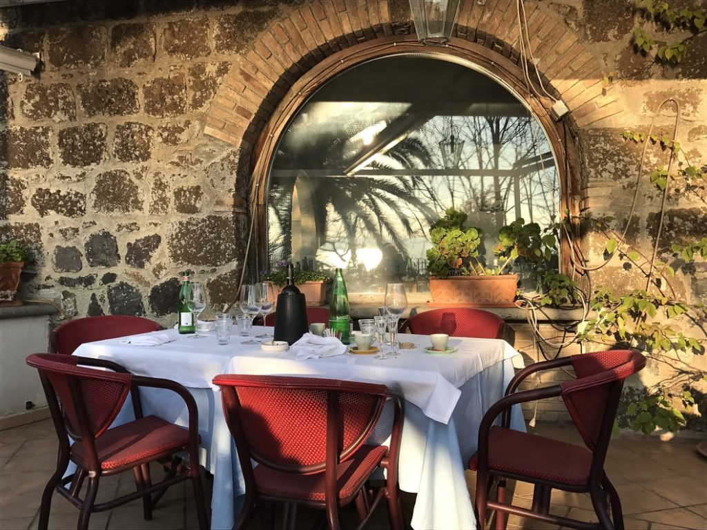 the best restaurants in lake bracciano