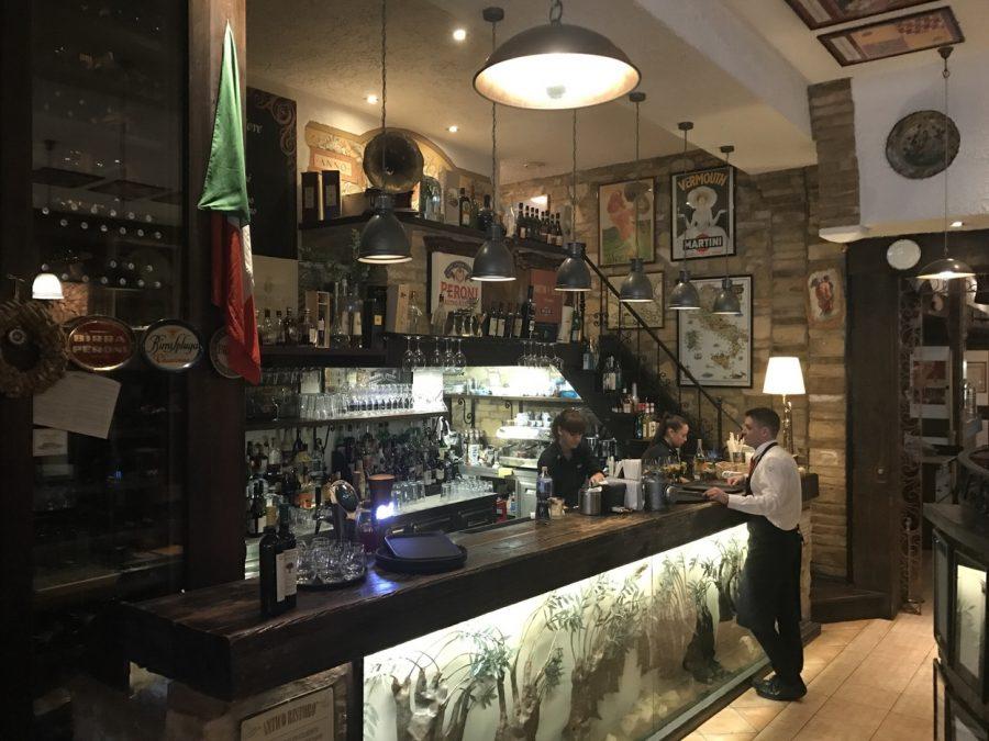 the best italian restaurants in budapest trattoria pomo d'oro
