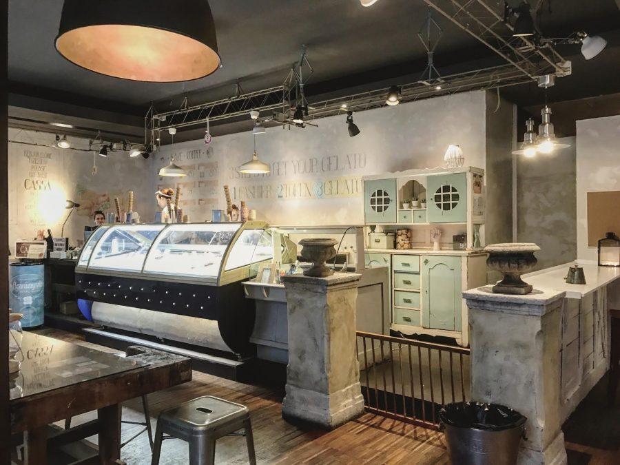 the best ice-cream in budapest: gelarto rosa
