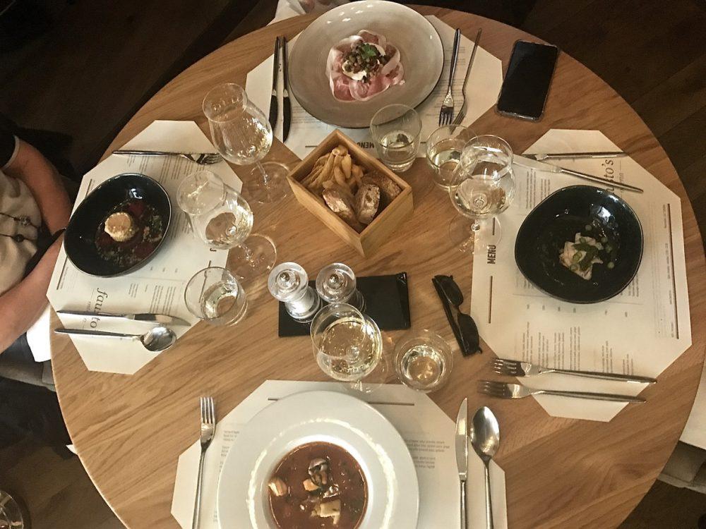 fausto's Italian restaurant in Budapest