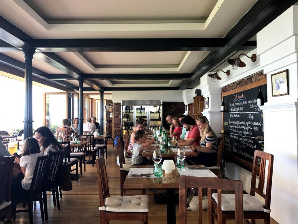 the best restaurant in balaton lake hungary