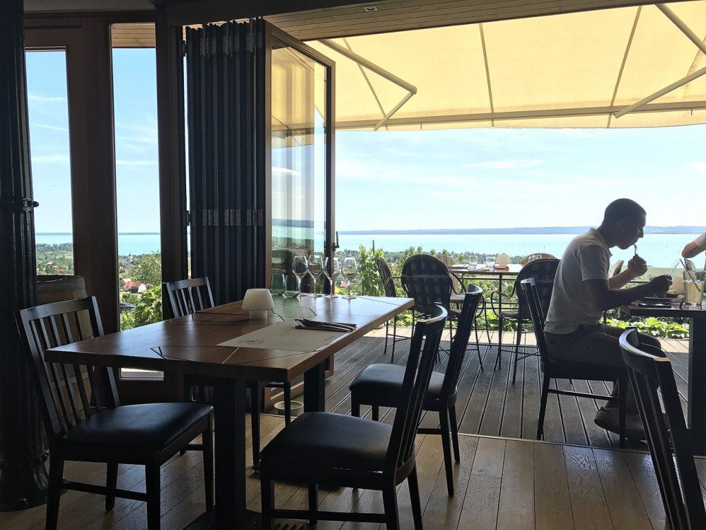where to eat in balaton lake