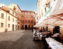 seafood restaurants in the center of rome