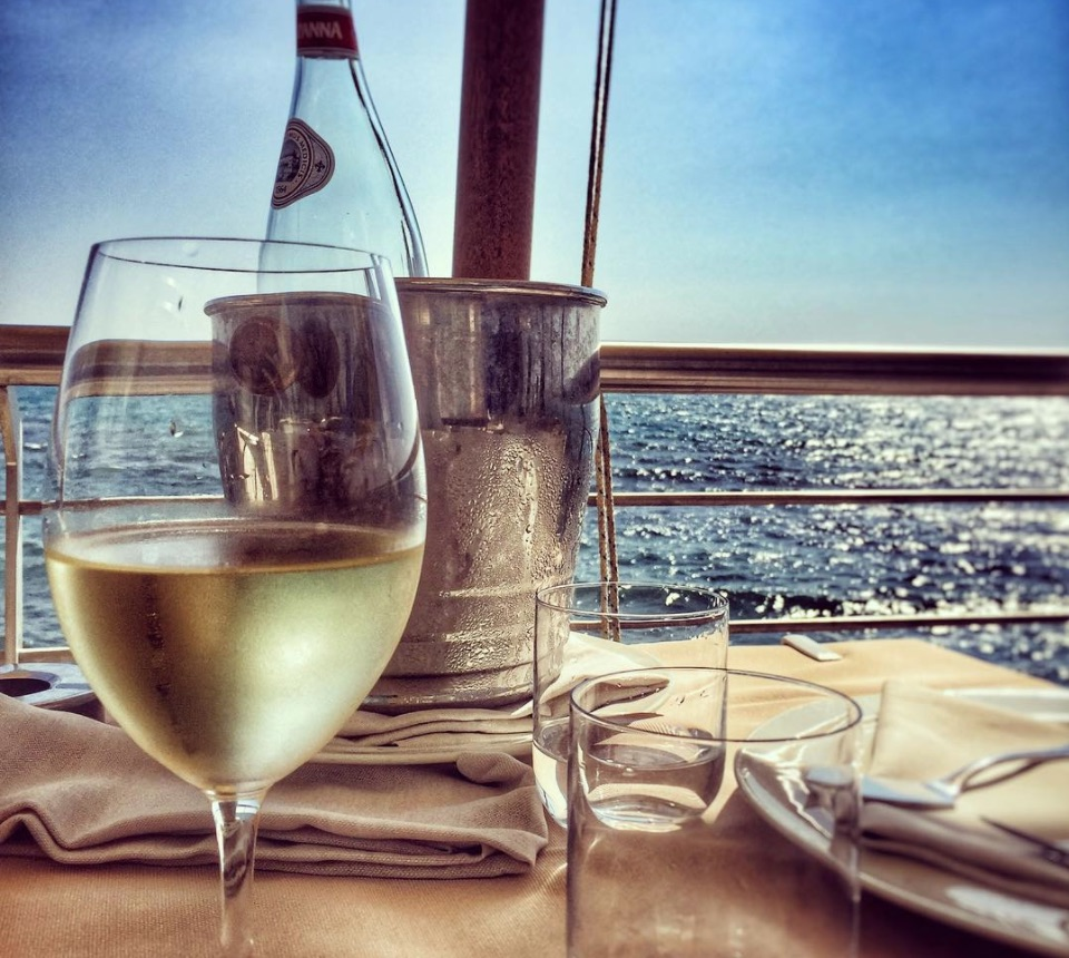 Seaside restaurants in Rome