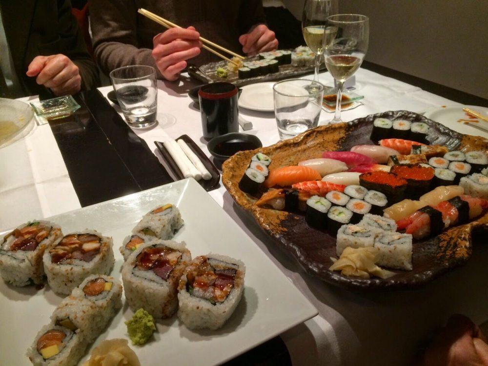 best japanese restaurants in rome - Hamasei