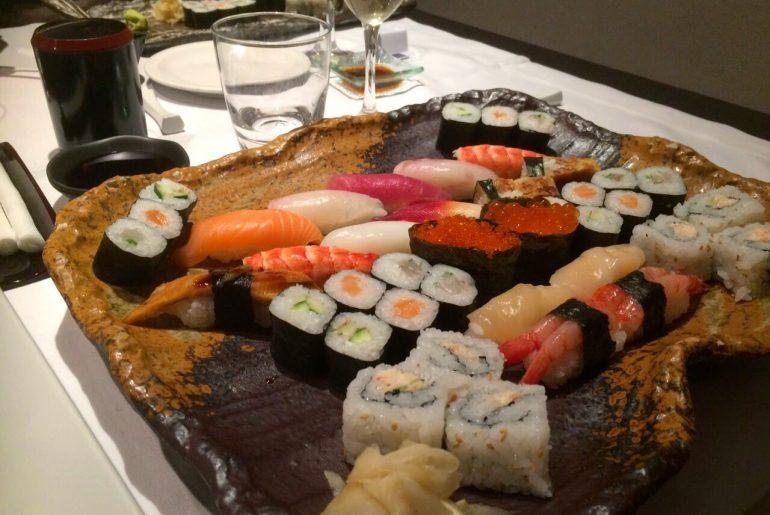 the best japanese restaurants in Rome - Hamasei