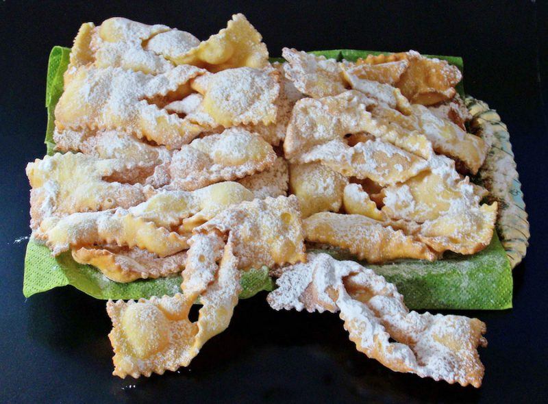 the best Carnevale sweets in Italy
