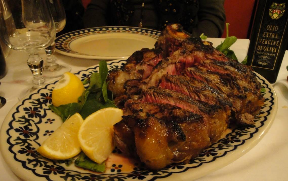 bistecca alla fiorentina in florence