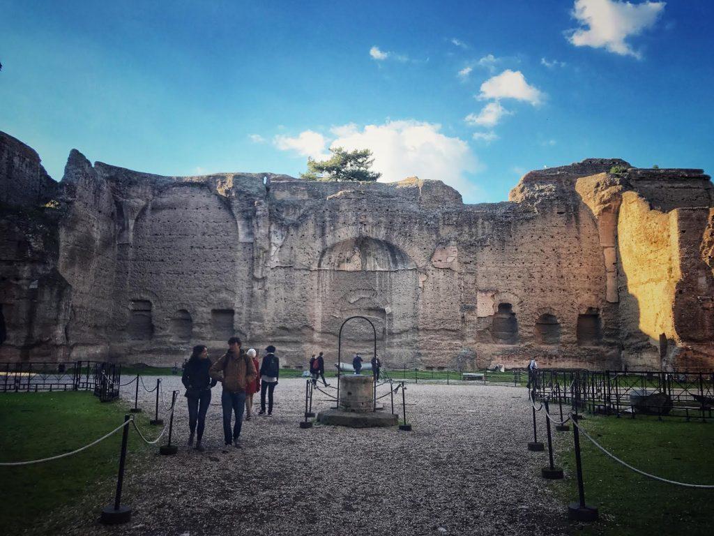 Terme di Caracalla with virtual reality