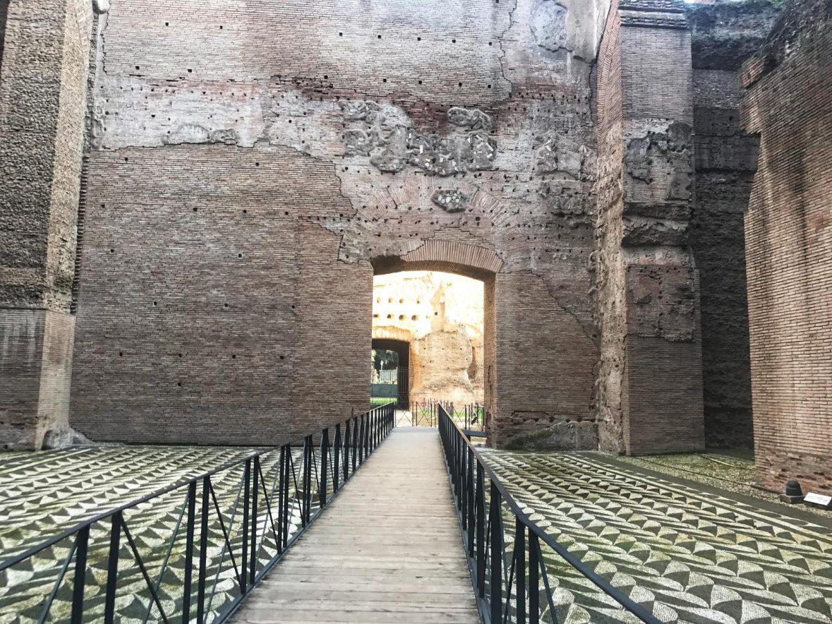 Terme di Caracalla in 4D