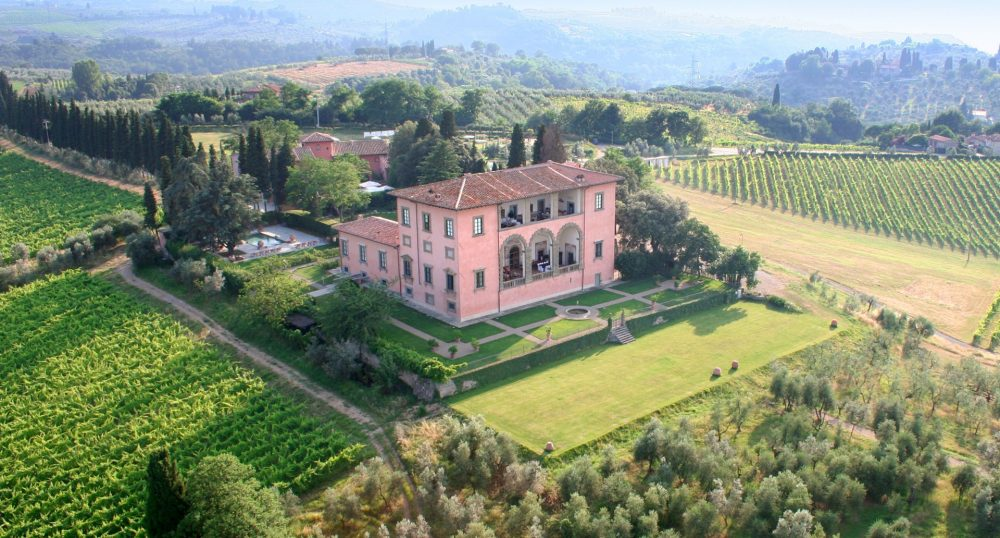 Countryside Hotels in Chianti: Villa Mangiacane