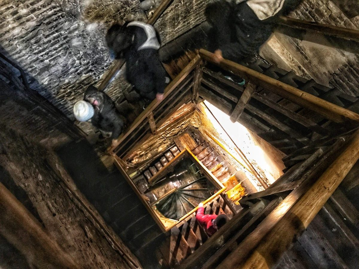Climbing the Torre degli Asinelli in Bologna