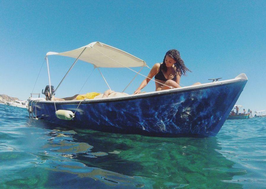 boat rentals in ponza island