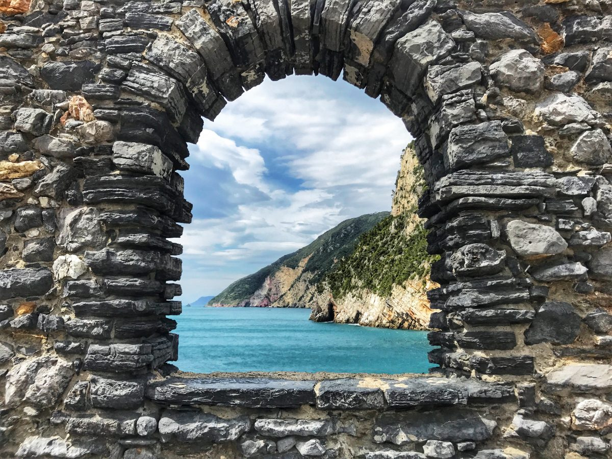 Lord Byron Grotto in Portovenere, Italy