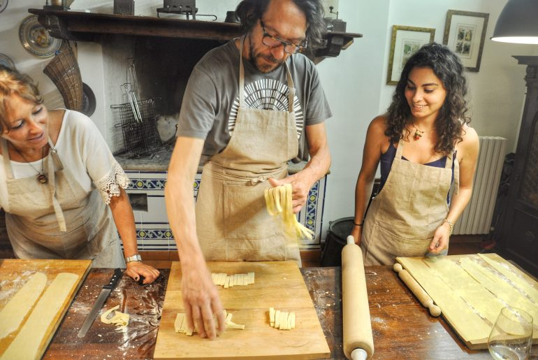 Assisi home cooking class