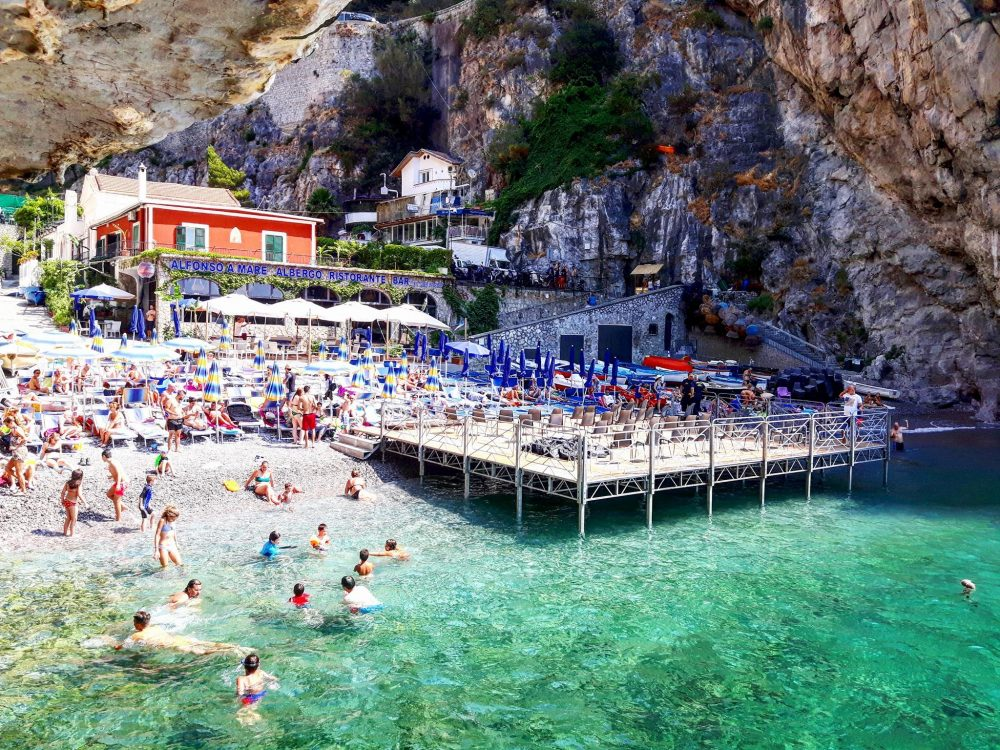 Alfonso a Mare beach club Praiano