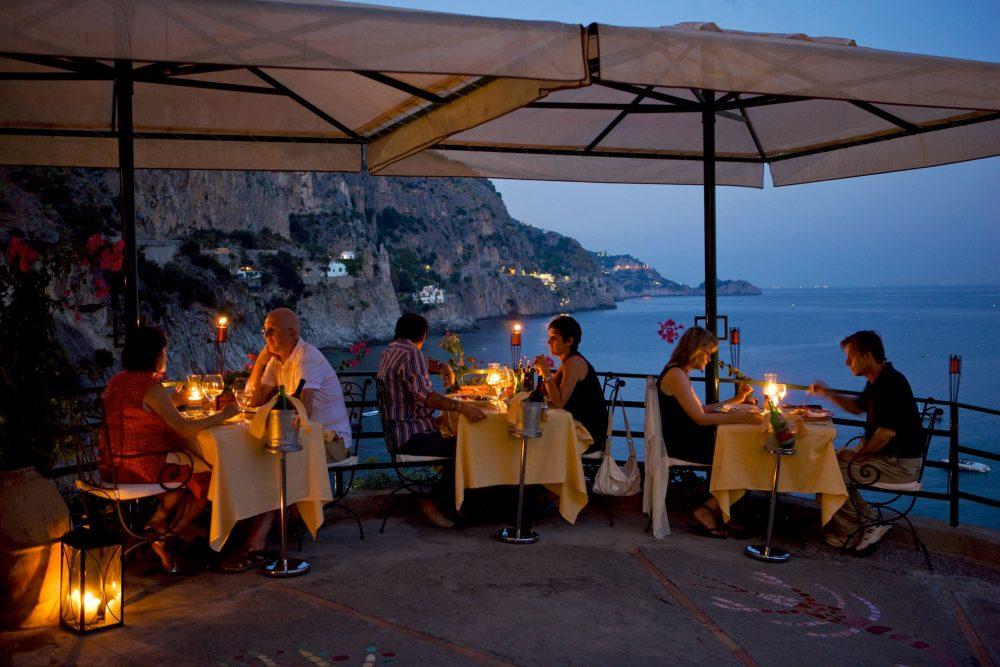 Franchino restaurant Praiano