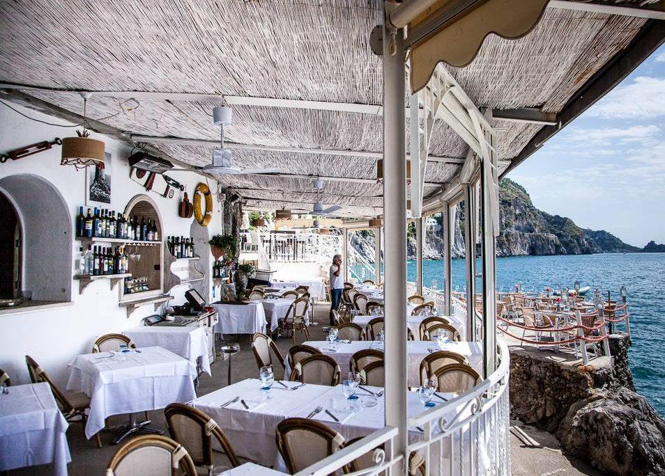 Il Pirata restaurant Praiano